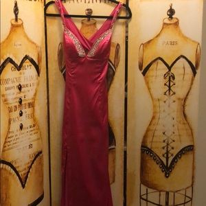 Prom/Formal gown with train S